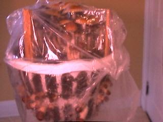 Hawiian Laundry Basket & Plastic