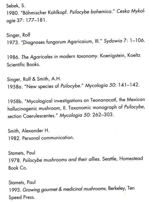 P Cyans ancestral habitat - Wild Mushrooming: Field and