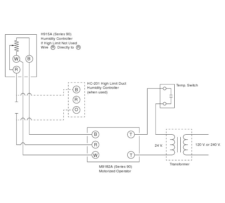 Wiring Diagram For Humidistat Fan : Humidistat wiring diagram images