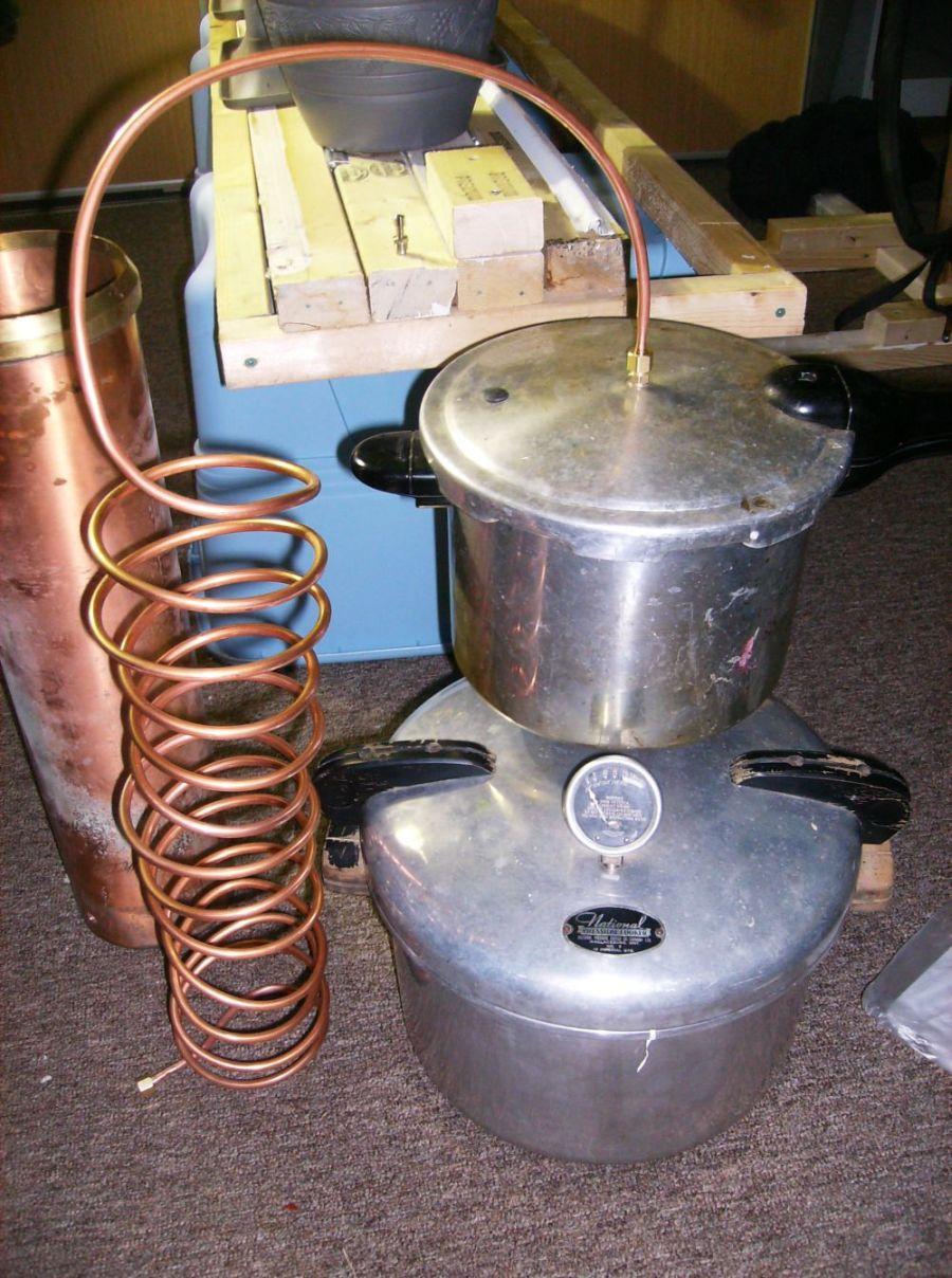 Pressure Cooker Distiller ~ Homemade water distiller pressure cooker ftempo