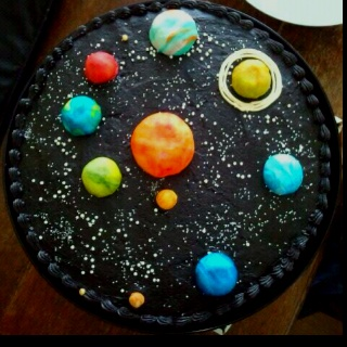 solar system cake toppers - photo #10