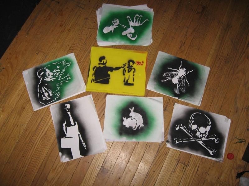 spray paint templates