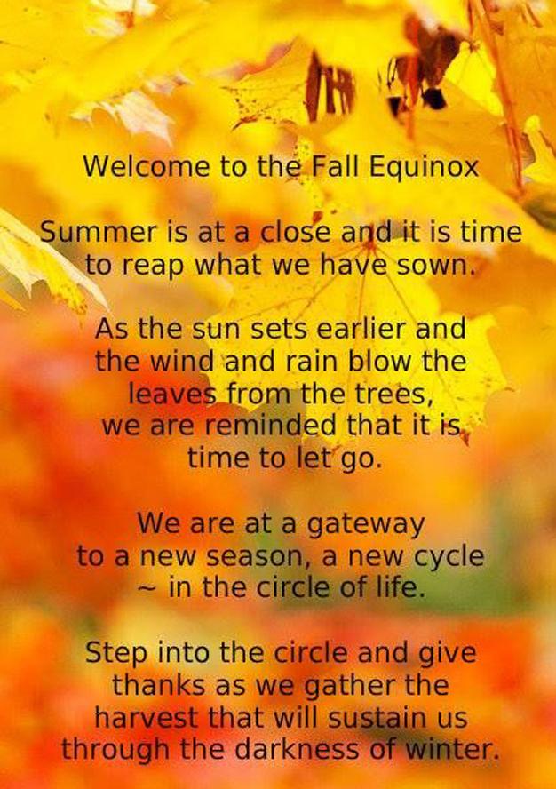 Autumn Equinox - Spirituality & Mysticism - Mycotopia