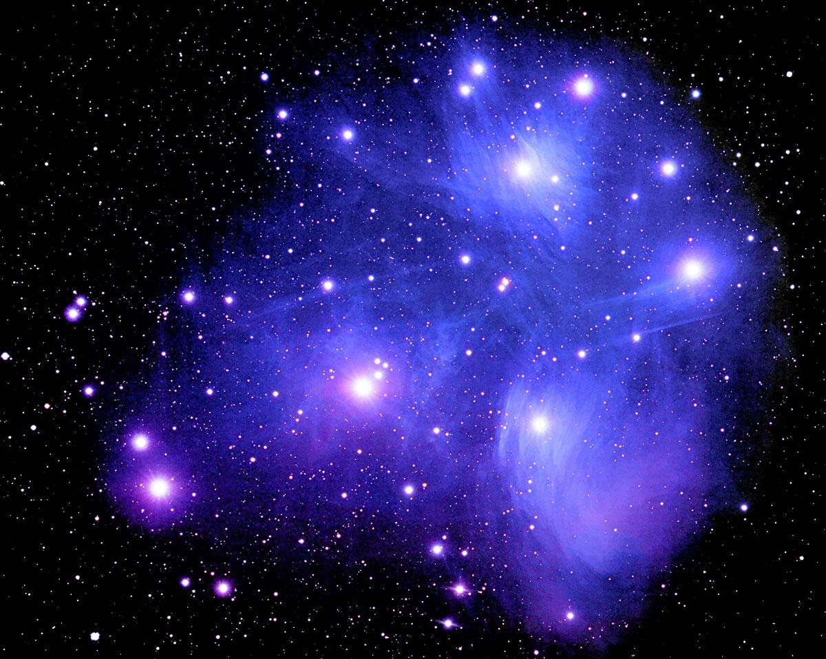 является космополитом созвездие плеяд на фото протяжении нескольких