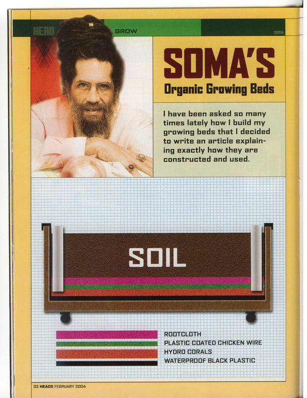 Organic Growing Beds By Soma Cannabis Mycotopia