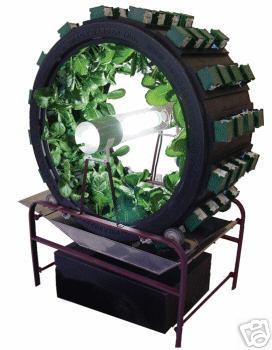 Hydro rotary garden GrassRoots Mycotopia